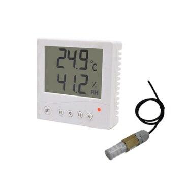Sonde étanche externe thermomètre 86 boîte RS485 logiciel de sortie haute précision industrielle LCD capteur de température et d'humidité
