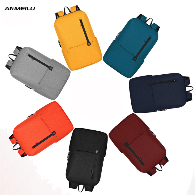 ANMEILU GYM Bag Men Women Outdoor Sport Running Bag Cycling Travel Fitness Yoga Mini Backpack Camping Hiking Backpack