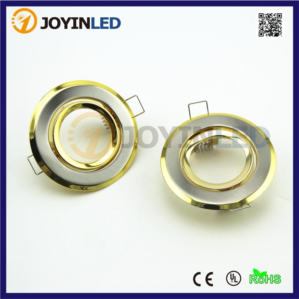 Led Ceiling Spotlight Fixtures: Indoor Flat LED Ceiling Lamps Holder GU10/MR16 Led Spot