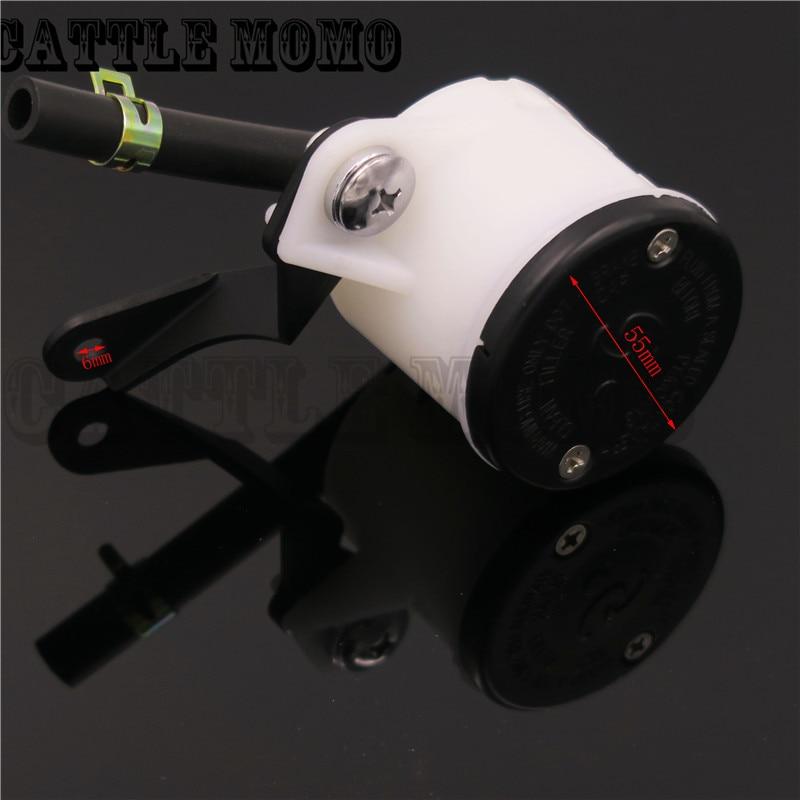 Universal front Fluid Reservoir Brake Master Cylinder Oil Cup For Honda BMW Yamaha Suzuki Kawasaki KTM