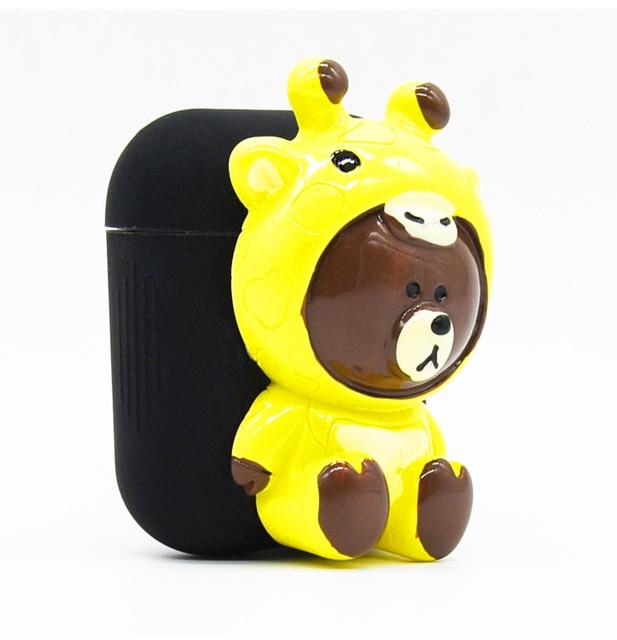 Cute Bear AirPod Case Cover 3
