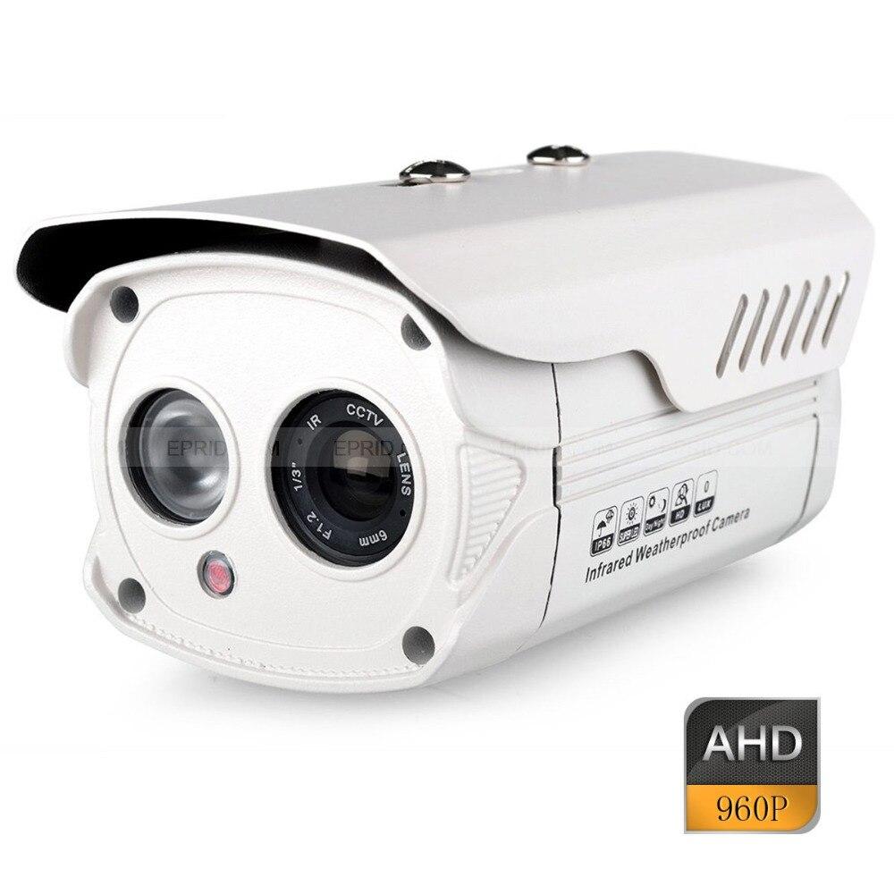 CCTV Security Outdoor Bullet Camera AHD HD 960P 1.3MP 6mm Lens Array IR кофемашина delonghi magnifica ecam22 110b черный