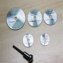Factory price  6 Pieces hss saw blades dremel