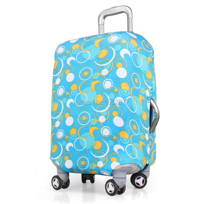 Thermal Transfer Trunk Protective Case Polyester Elasticity Luggage Sets , L , f