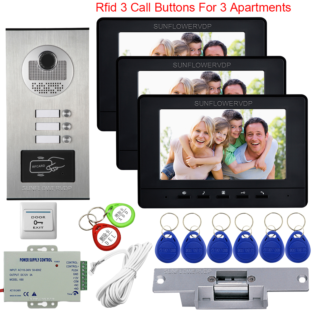 Video Intercom For A Private House Video Door Entry System For Home The Keys To The Intercom Access Control Electric Strike Lock