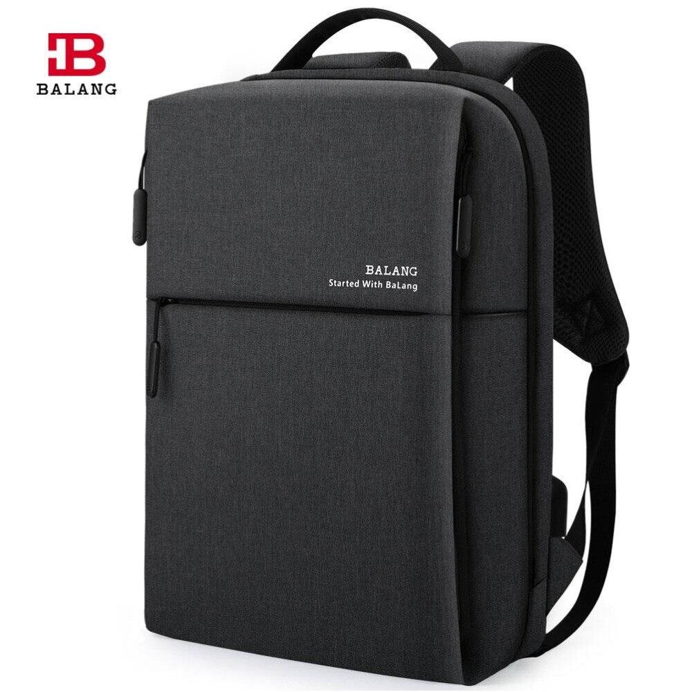 BaLang classique affaires sac à dos hommes femmes sac à dos pour ordinateur portable grande capacité étudiants sac à dos sac à dos sac à dos école pour 15.6 pouces