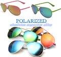 2016 liga de alumínio E Magnésio óculos de Personalidade Colorida perna das mulheres dos homens polarizados óculos de sol UV400 polarizada motorista óculos de sol