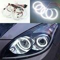 Для Hyundai i30 2007 2008 2009 2010 2011 Отлично led angel глаза Ультра яркое освещение smd led Angel Eyes Halo Кольцо комплект