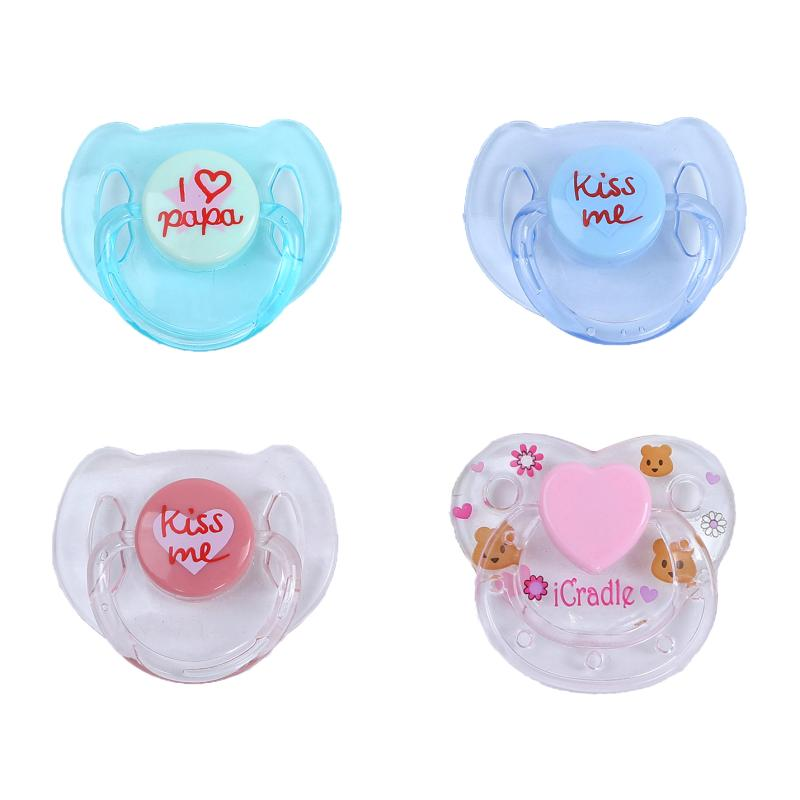 New Arrival Magnetic Pacifiers for Reborn Baby Dolls Newborn Babies Dolls Supplies Dummy Pacifier Magnet Nipples
