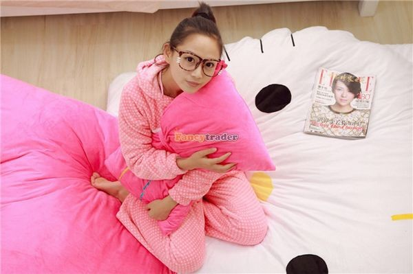 Fancytrader 200cm X 150cm Soft Lovely Huge Giant Pink Hello Kitty Double Bed Carpet Sofa, FT50313 (13)