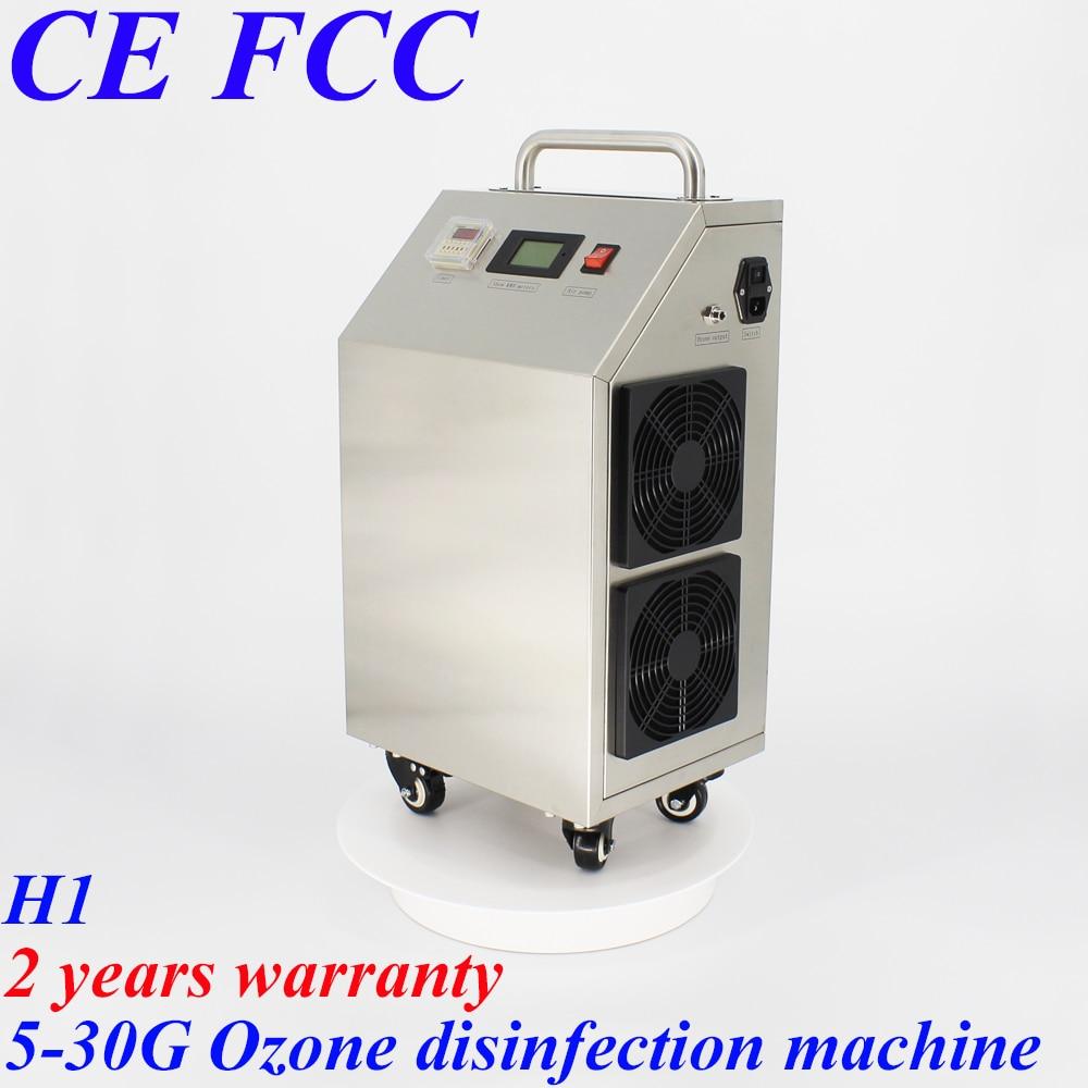 Pinuslongaeva H1 móvil de acero inoxidable 304 máquina de ozono para piscina máquina de desinfección de agua para tratamiento del aire del agua