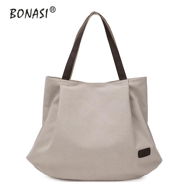 2016 Da Lona Da Forma Saco Totes Mulheres Bolsa bolsas de Ombro messenger bags