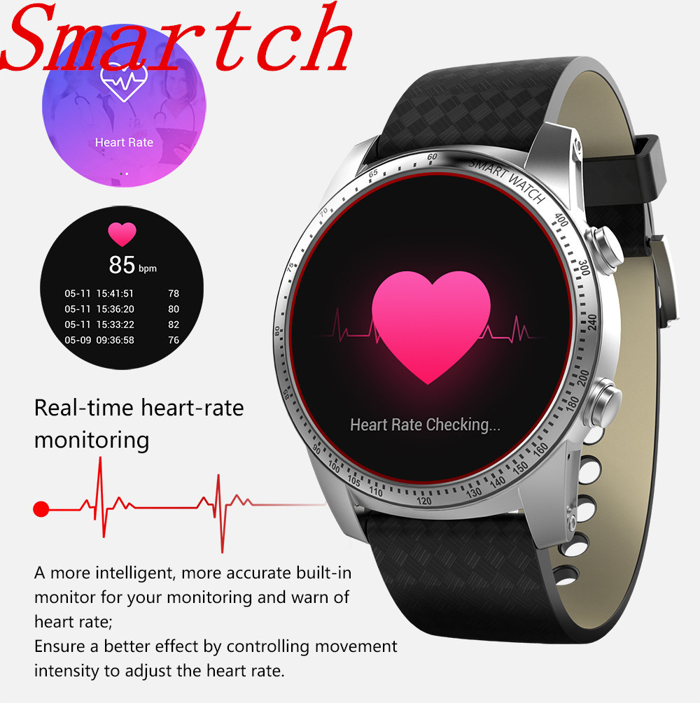 Smartch KW99 Android Smart Watch 512MB + 8GB Heart Rate Monitor Wrist Smartwatch Wearable Devices Men Wristwatch for PhoneSmartch KW99 Android Smart Watch 512MB + 8GB Heart Rate Monitor Wrist Smartwatch Wearable Devices Men Wristwatch for Phone