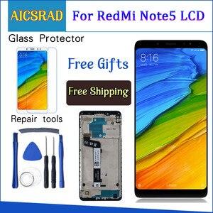 Image 1 - สำหรับ Xiaomi Redmi หมายเหตุ 5 Pro จอแสดงผล LCD หมายเหตุ 5 สัมผัสหน้าจอ Digitizer ASSEMBLY REPLACEMENT สำหรับ Xiaomi Redmi Note5 5.99 นิ้ว LCD