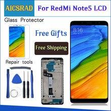 Xiaomi Redmi için not 5 Pro LCD ekran not 5 için dokunmatik ekran Digitizer meclisi değiştirme Xiaomi Redmi Note5 5.99 inç LCD