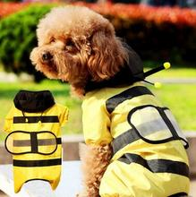 Clothes For Dog Brand Spring Dogs Coat Jacket Waterproof Pet Raincoats Warm Outdoor Safety Supplies