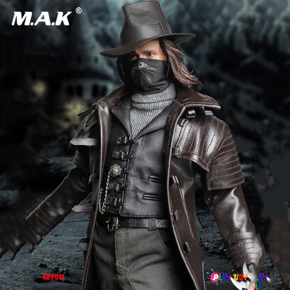 1/6 Scale Full Set Collectible Monster Hunter Ruthless Killer Van Helsing Hugh Jackman Figure Body Head Clothes For Fans Gifts