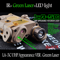 Element Airsoft LA 5C PEQ UHP Appearance Green Laser And Flashlight Hunting Weapon Lights EX419