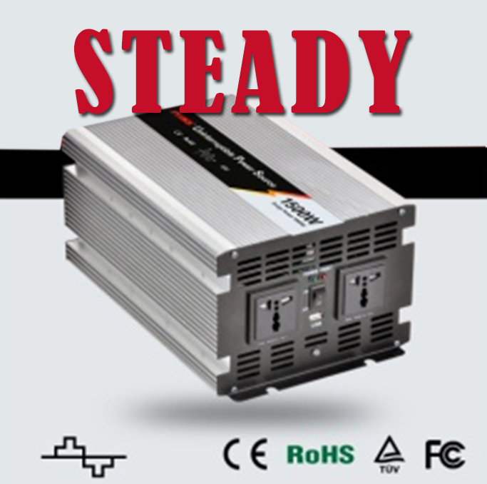 inverter 24v 1500w 220v whistler  modified sine wave inverter 1500 watt power inverter charger