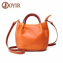 JOYIR Genuine Leather Handbags Women Small Shoulder Bag Messenger Crossboby For Vintage High Quality Tote Handbag