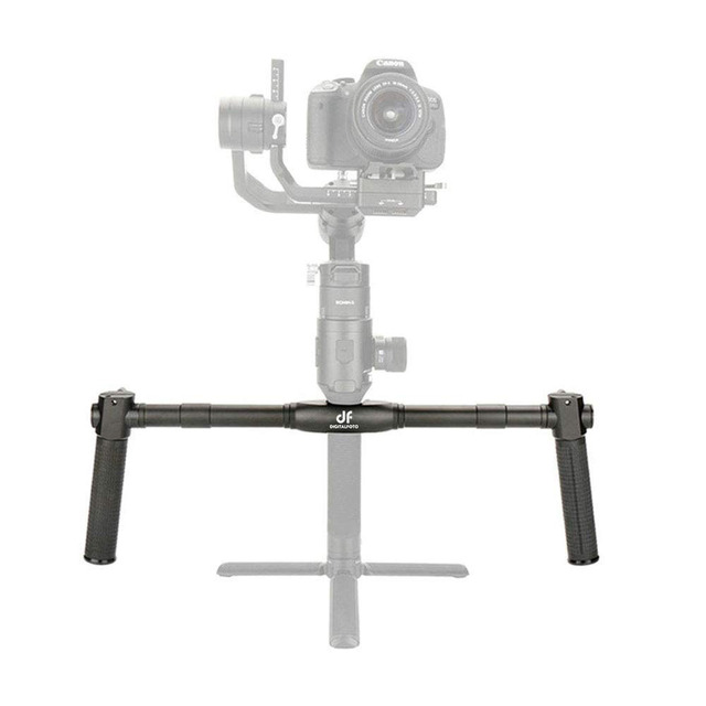 Dual Handle Gimbal Accessories Handheld Mount for Dji Ronin S Moza Air 2 Extended Handle Grips  Mount