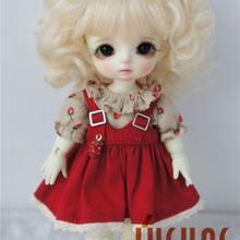 JD012 1/8 5-6 дюймов, парик для куклы, модный парик для куклы BJD, милые парики из мохера, волнистый парик для маленькой куклы, популярные аксессуары для кукол