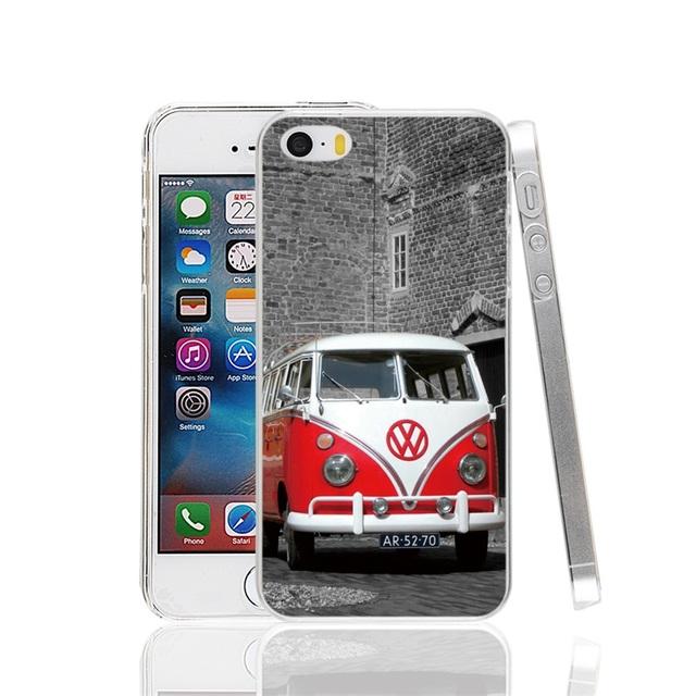 VW Retro Bus Phone Cases iPhone 4 4S 5 5S SE 5C 6 6S 7 Plus