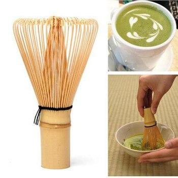 Japanese Ceremony Bamboo 64 Matcha Green Tea Powder Whisk Matcha Bamboo Whisk Bamboo Chasen Useful Brush Tools Tea Accessories Grinder Brushes