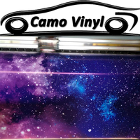 Camouflage Motorcycle Car Body Cover Wrapping Sticker Starry Galaxy Star Wrap Foil Vinyl Film Roll Size:1.52*5/10/15/20/25/30M