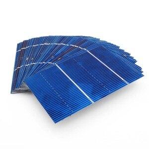 Image 5 - 50 pièces/lot 78*52mm 0.66W panneau solaire Mini système solaire bricolage batterie téléphone chargeur Portable cellule solaire Sunpower peinture charge