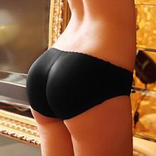 Cueca Breves Esportes Vestindo Calcinha Mulheres Pacote Hip Bum Butt Lift Shapewear Acolchoado