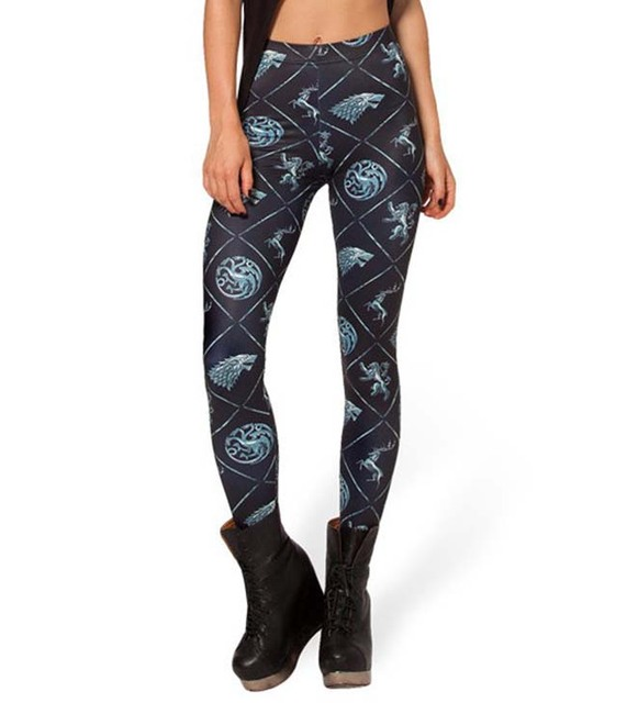 Game of Thrones The Houses Print Leggings