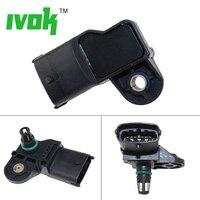 Distribuidor sensor de Pressão Absoluta MAP Sensor Para Renault Laguna II 1.9 dCi Megane II Scenic II 8200375977 223650754R 0 281 002 709