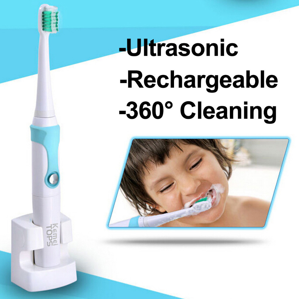 newest 220v IPX7 Rechargeable Electric teeth whitening Toothbrush Ultrasonic oral care vibrator dental Tooth Brush Kid Adult kit 1 kit dental orthodontic oral care interdental brush toothpick between teeth brush 3pcs kit570041