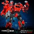 WeiJiang Transformação Robô de METAL 5In1 TF Século de Derormation Fogo Guerreiro anime brinquedos do motor do carro Agente Exclusivo
