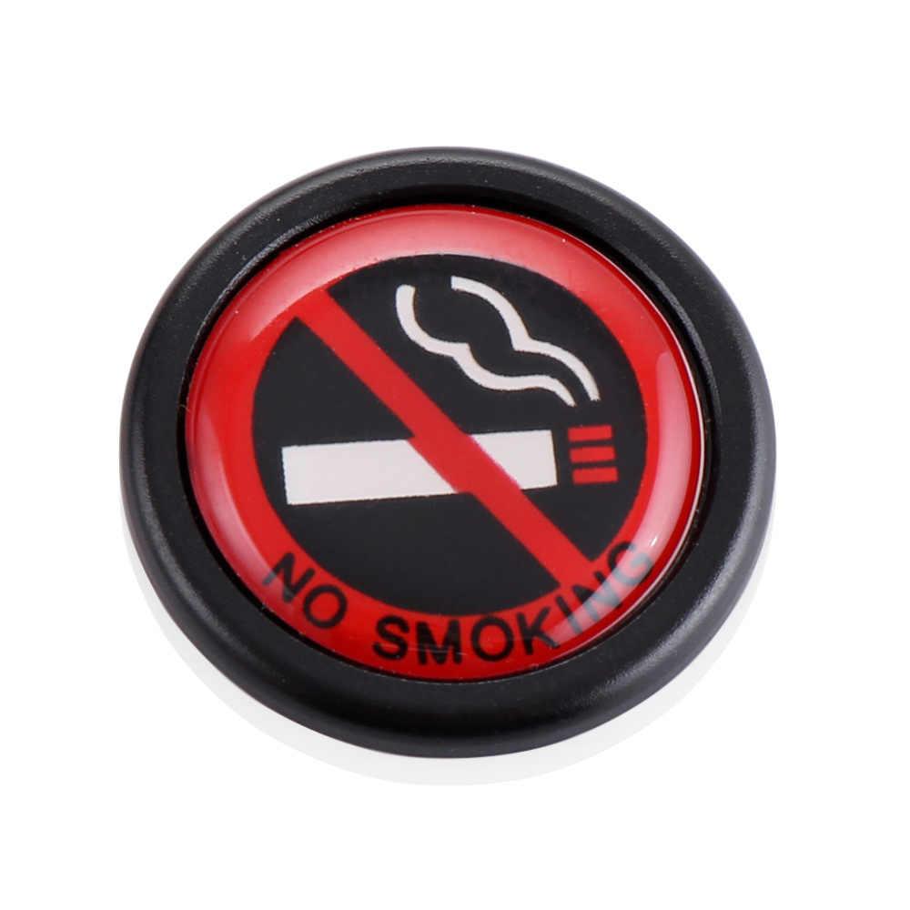 """Estilo do carro Etiqueta Do Carro """"não Fumar"""" para Mercedes Benz A180 A200 W203 W204 W211 AMG CLA GLA A B C E S G CLS CLK GL GLK SLK classe"""
