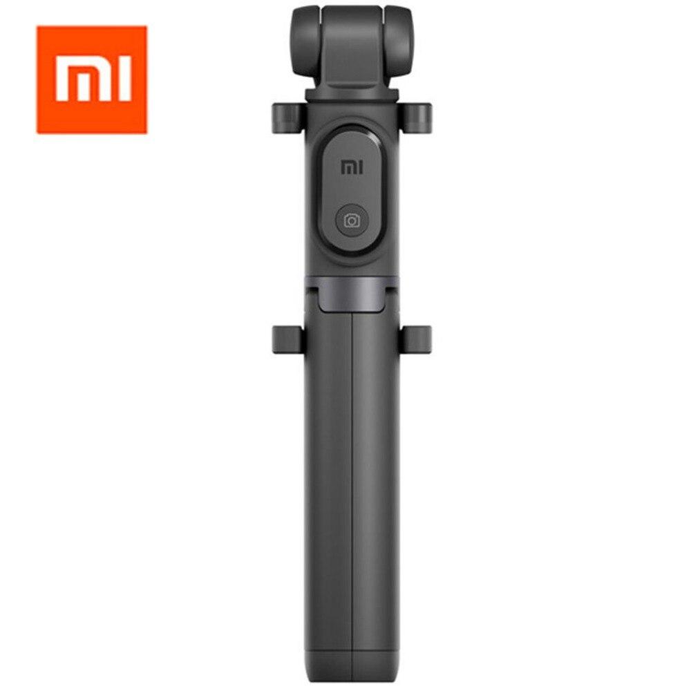 Original Xiaomi Selfie Stick para teléfono Bluetooth Mini trípode Selfiestick con control remoto inalámbrico obturador para iPhone Samsung Android