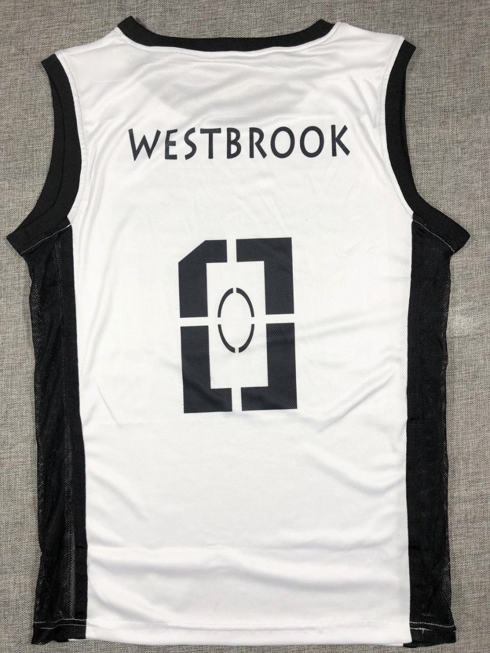 SYNSLOVEN Men Basketball Jersey okc thunder no.0 why not russell westbrook  Sports clothing mesh Breathable plus size customize-in Basketball Jerseys  from ... 60e68c947