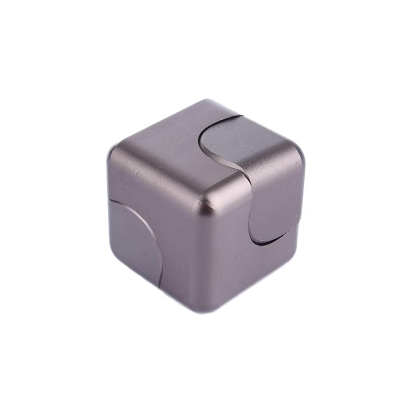Alta Calidad Mano Finger Spinner metal Fidget Cube Modelo Aleación - Juguetes clásicos - foto 5