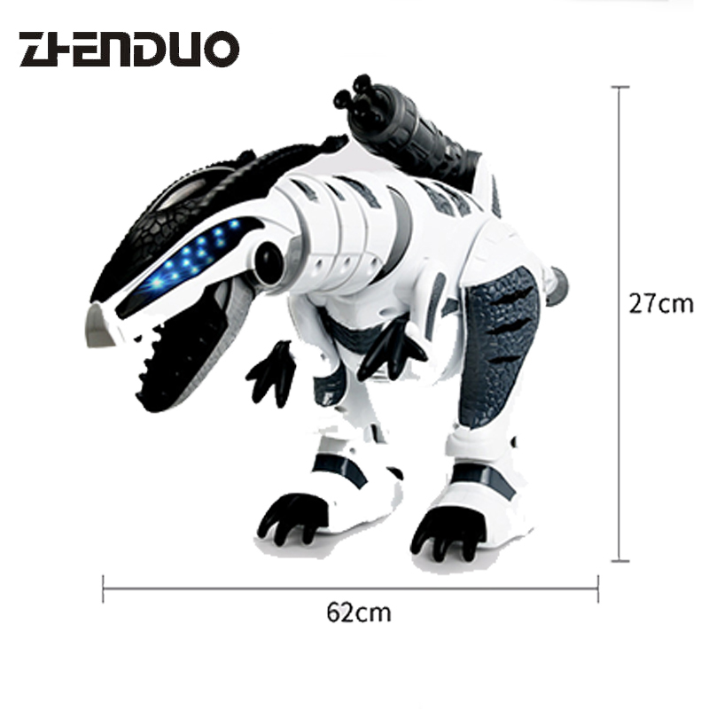 Zhenduo toy intelligent machine war dragon remote control deformation dinosaur intelligent robot puzzle Children's toys Gift цена