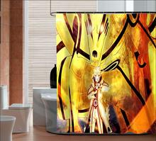 New Arrive Naruto Personalized Custom Shower Curtain Bath Curtain Waterproof