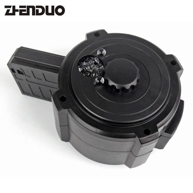 ZhenDuo jouets STD5s Gen8 M4a1 tambour électrique Gel balle eau bombe balle Clip Magazine jouet pistolet accessoires enfant