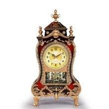 Старинные часы большой гостиной стол для телевизора императорской интерьер Классическая Творческий сидеть МАЯТНИК Часы siliencebedroom