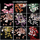 11 color 6*8MM Oval ...