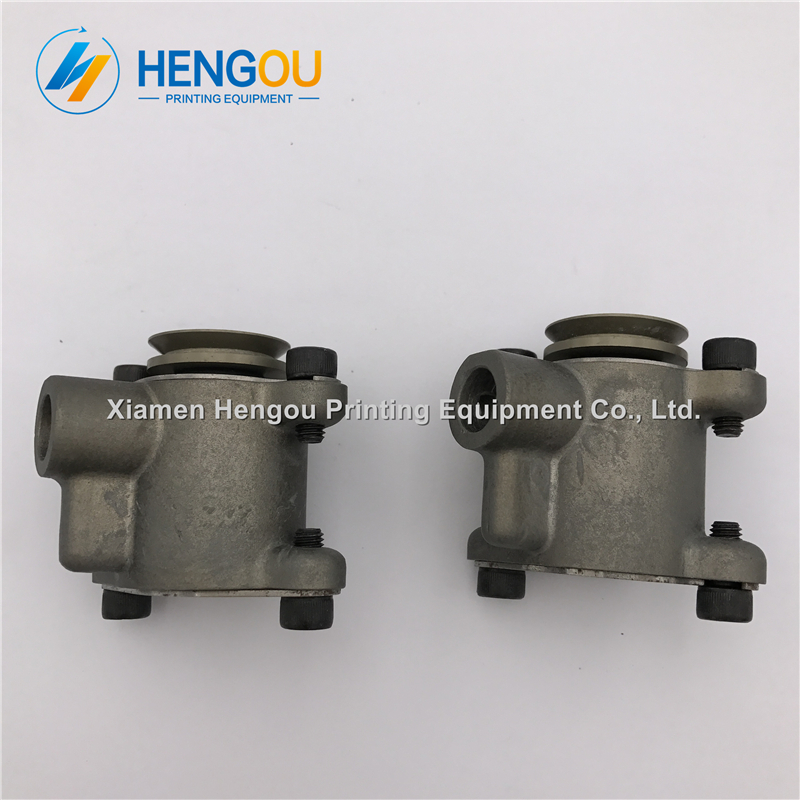 1 pair China post free shipping heidelberg spares sucker F2.028.187 fittings suction nozzle XL105 SM102 CD102 sucker 1 pair china post free shipping komori paper brush wheel with seat frame width 7 9cm