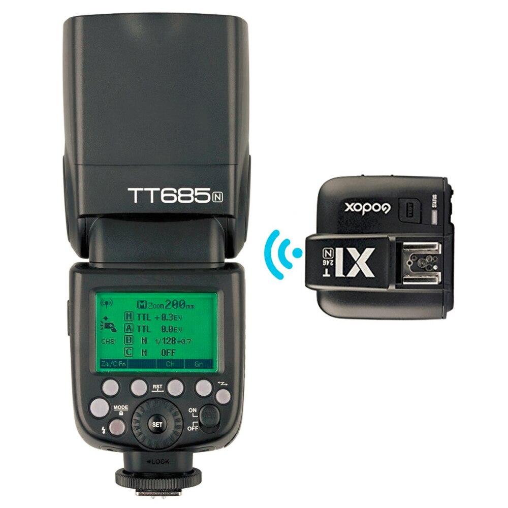 Godox TT685N 2.4G Trådlös i-TTL Höghastighetssynkronisering 1 / - Kamera och foto