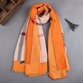 Womens Scarf Europe America Luxury Brand Printed Shawl Bandana Cotton Scarf Women Warm Winter Long Scarves Shawls
