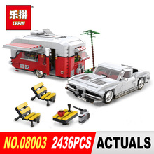 XingBao 08003 2436Pcs New Creative Series The MOC Camper Set Children Educational Building Blocks Bricks Toys Model Boys Gifts(China)