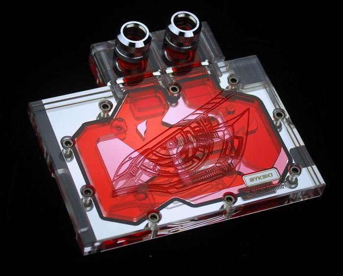 Bykski N-GV1060MI-X VGA Water Cooling Block for MSI GTX1060 bykski n ms1060oc x vga water cooling block for msi gtx 1060 oc