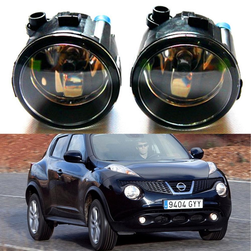 For NISSAN Juke Hatchback 2010-2014 high brightness Front bumper halogen fog lights Car styling переходная рамка incar rns n12w для nissan juke 2015 вставки
